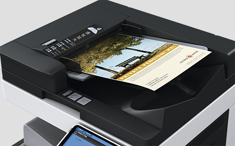 High-speed colour scanning