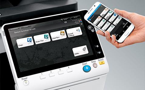 Convenient Mobile Touch Area