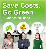 Save Costs. Go Green.