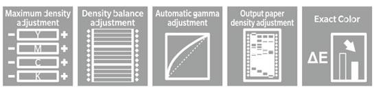 One-step auto adjustment