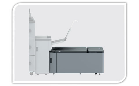 Banner compatible high-volume paper feed unit LU-202XLm