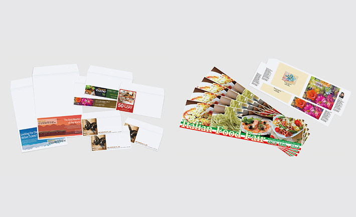 Envelope and banner printing functions