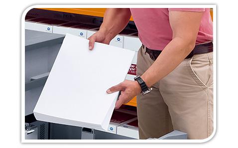 Easy large-volume printing