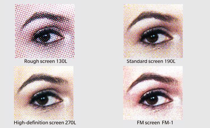 12 high image quality screens