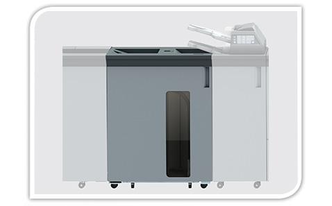High-capacity output tray OT-510