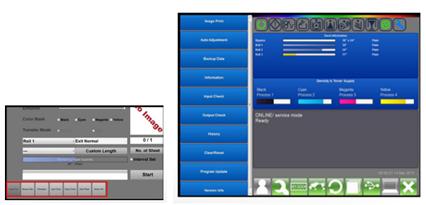 KIP Touchscreen Technical Interface