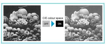 CIE colour space