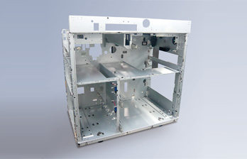 Highly rigid frame and highly durable parts