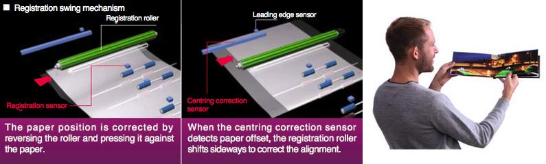 Enhance print position accuracy - Higher print position accuracy