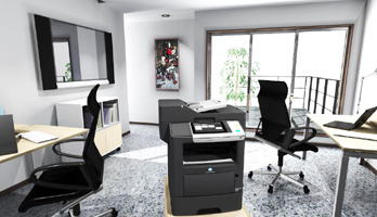 Ideal as a main machine for small offices