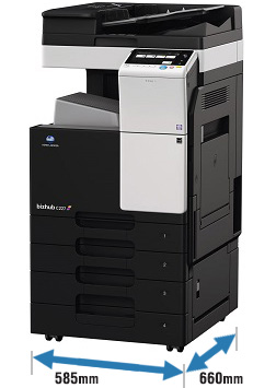 Lighter and compact MFP body