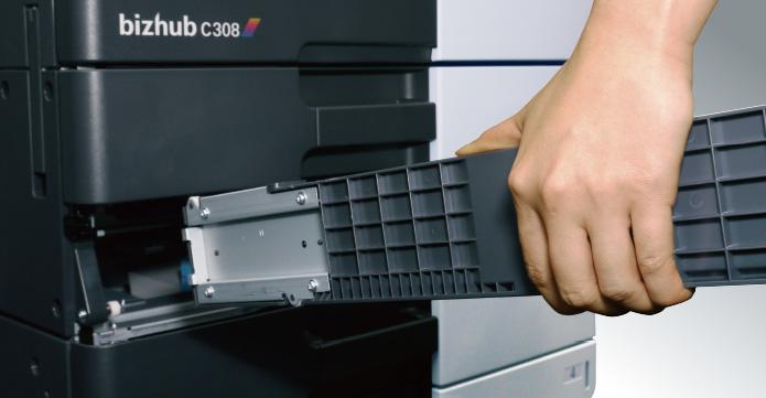 Detachable paper cassette