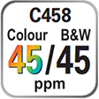 C458 Colour and B&W 45ppm