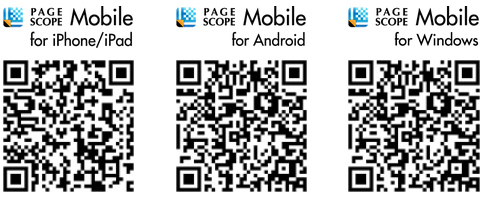 PageScope Mobile