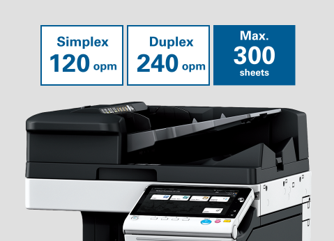 Faster scanning speed and precise outputs create smooth workflow