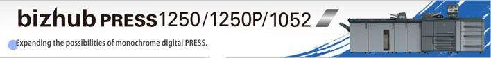 bizhub PRESS 1250/1052