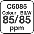 C6085 Colour and B&W 100ppm