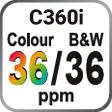 C360i Colour and B&W 36ppm