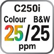 C25oi Colour and B&W 25ppm