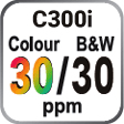 C300i Colour and B&W 30ppm