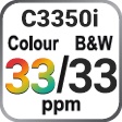 C3350i Colour and B&W 30ppm