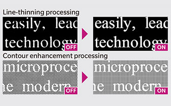 Precise Outline Processing